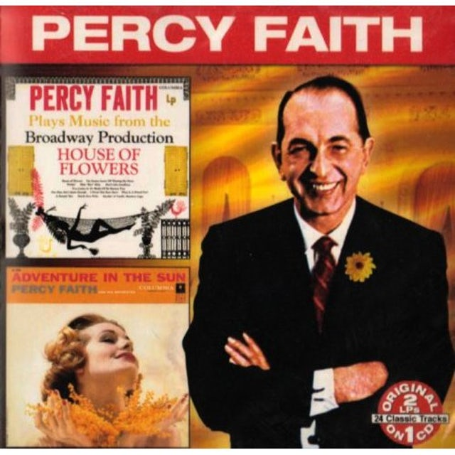 Percy Faith PLAYS MUSIC BROADWAY OF HOUSE FLOWERS: IN THE SUN CD