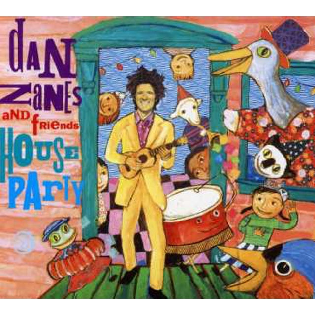 Dan Zanes HOUSE PARTY CD