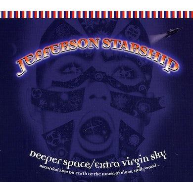 Jefferson Starship DEEPER SPACE / EXTRA VIRGIN SKY CD