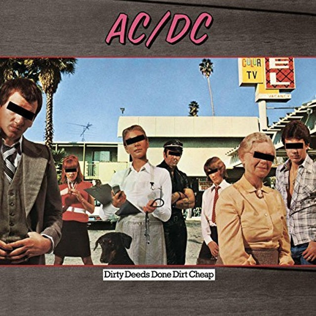 AC/DC DIRTY DEEDS DONE DIRT CHEAP Vinyl Record
