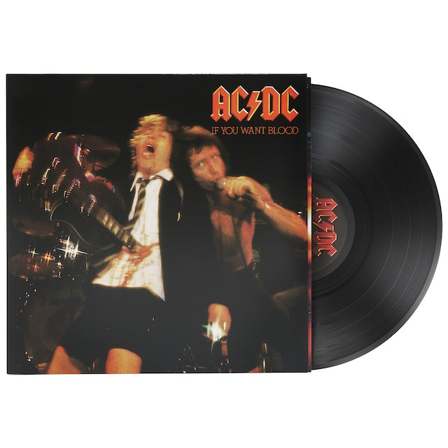 AC/DC IF YOU WANT BLOOD YOU'VE GOT IT Vinyl Record