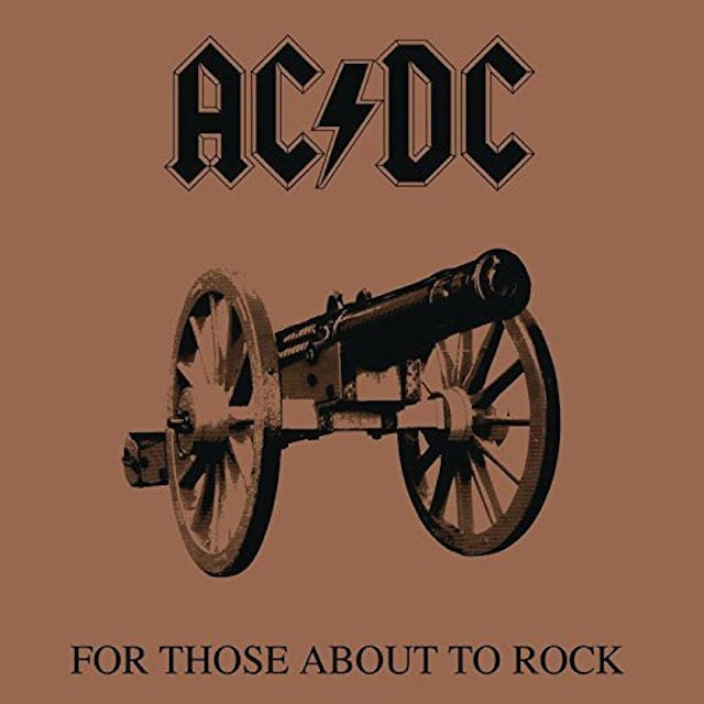 AC/DC FOR THOSE ABOUT TO ROCK WE SALUTE YOU Vinyl Record