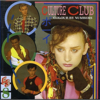 Culture Club COLOUR BY NUMBERS CD
