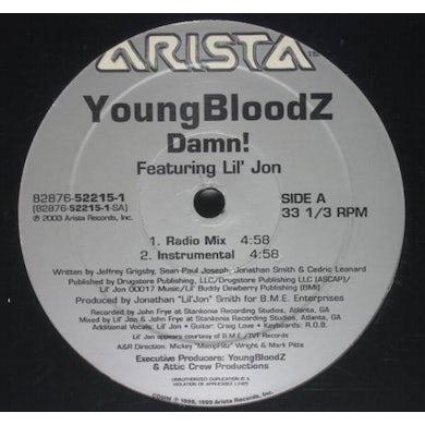 Youngbloodz DAMN / LEAN LOW Vinyl Record