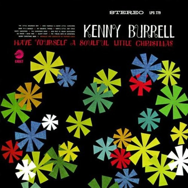 Kenny Burrell HAVE YOURSELF A SOULFUL LITTLE CHRISTMAS CD