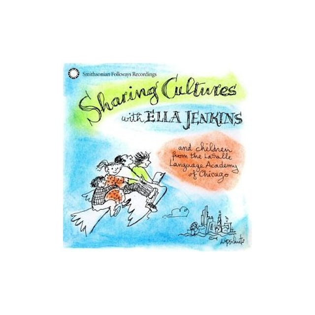 SHARING CULTURES WITH ELLA JENKINS CD