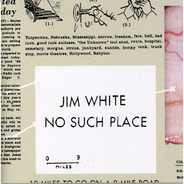 Jim White NO SUCH PLACE CD
