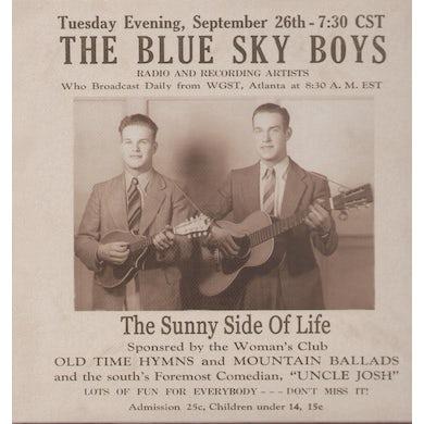 Blue Sky Boys SUNNY SIDE OF LIFE CD