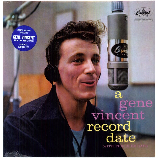 Gene Vincent RECORD DATE Vinyl Record