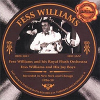 Fess Williams 1926-1930 CD