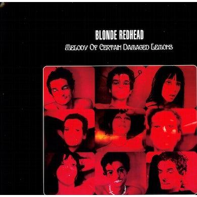 Blonde Redhead MELODY OF CERTAIN DAMAGED LEMONS Vinyl Record