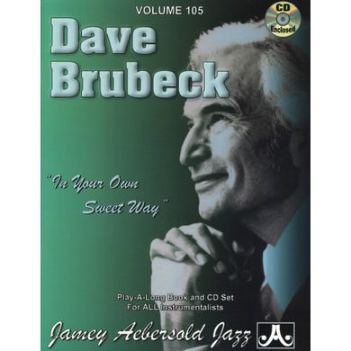 Jamey Aebersold DAVE BRUBECK: IN YOUR OWN SWEET WAY CD