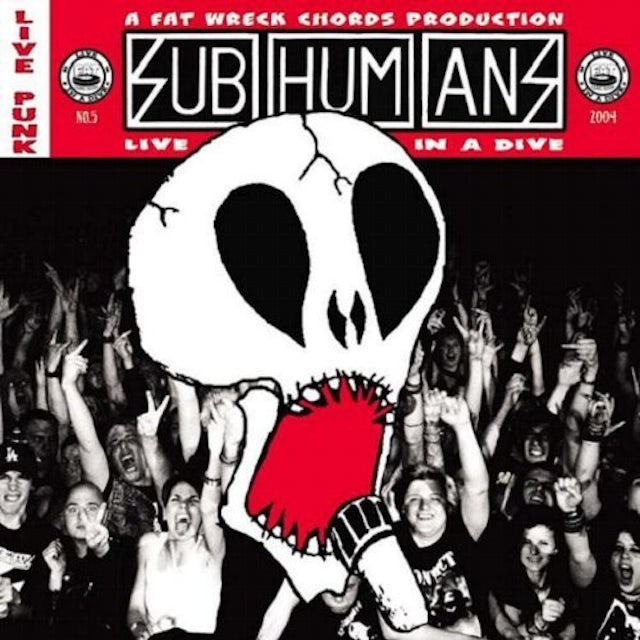 Subhumans LIVE IN A DIVE CD