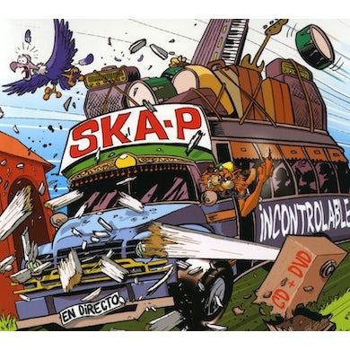 Ska-P INCONTROLABLE: EN DIRECTO CD