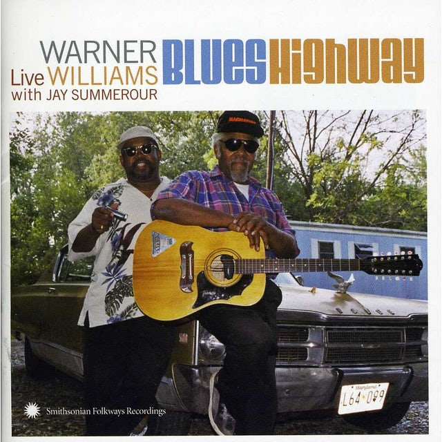 Warner Williams LIVE WITH JAY SUMMEROUR CD