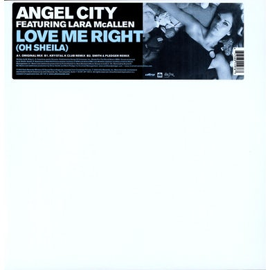 Angel City LOVE ME RIGHT (X3) Vinyl Record