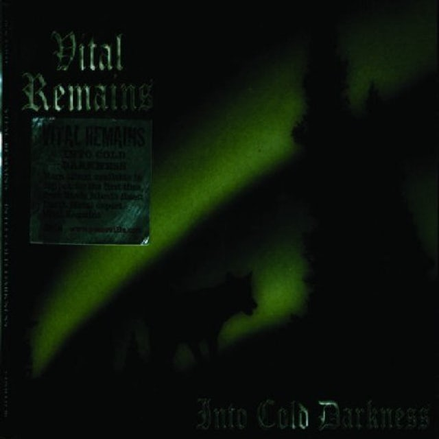 Vital Remains INTO COLD DARKNESS CD
