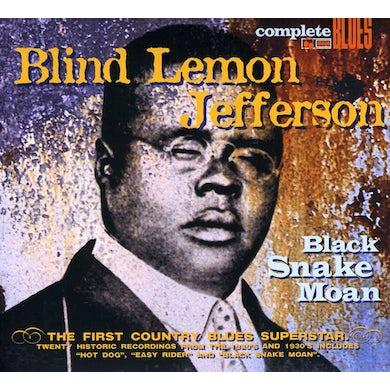 Blind Lemon Jefferson BLACK SNAKE MOAN CD