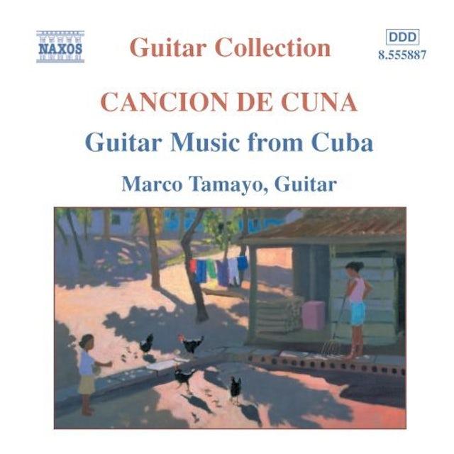 Marco Tamayo GUITAR MUSIC FROM CUBA CD