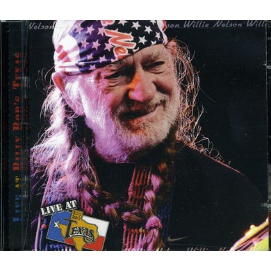 Willie Nelson LIVE AT BILLY BOB'S TEXAS CD