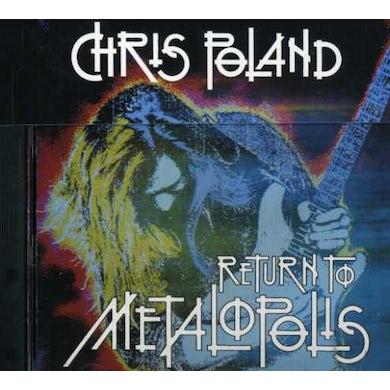 Chris Poland RETURN TO METALPOLIS CD