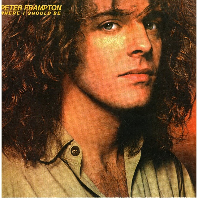 Peter Frampton WHERE I SHOULD BE CD