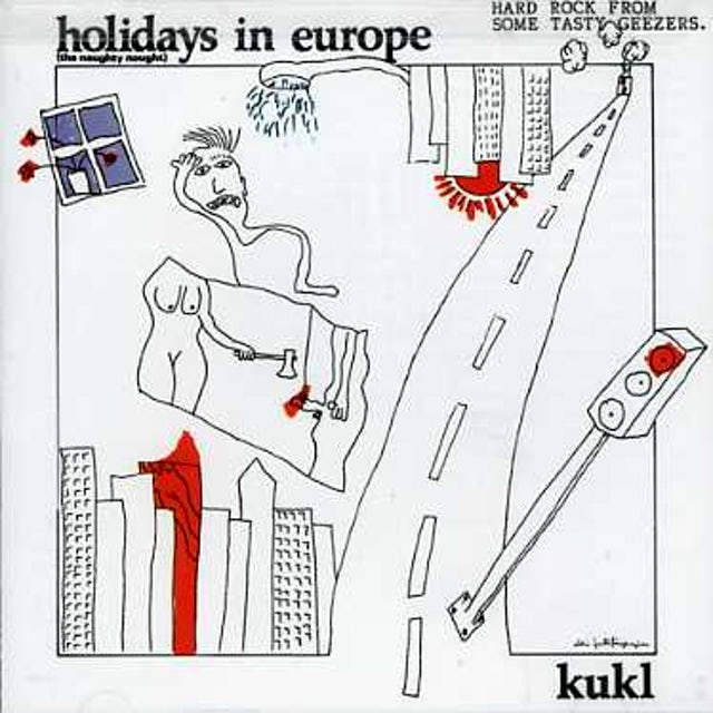 Kukl HOLIDAYS IN EUROPE CD