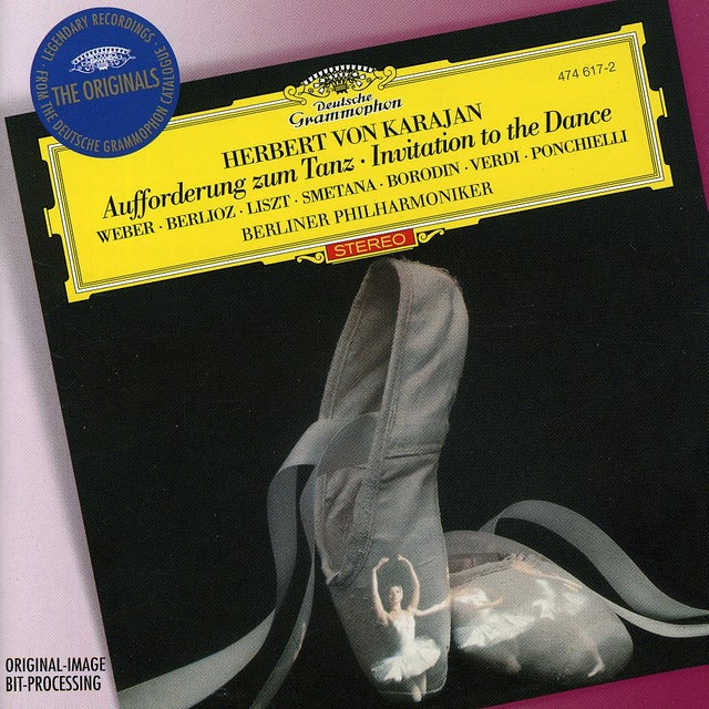 Herbert Von Karajan INVITATION TO THE DANCE CD