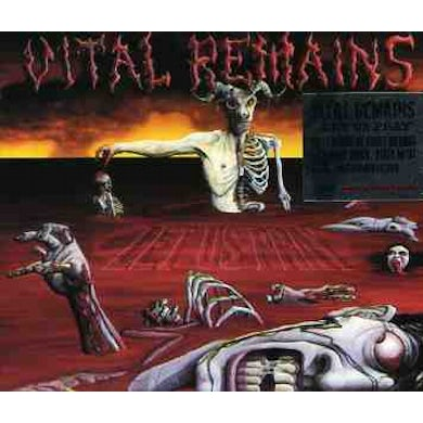 Vital Remains LET US PRAY CD