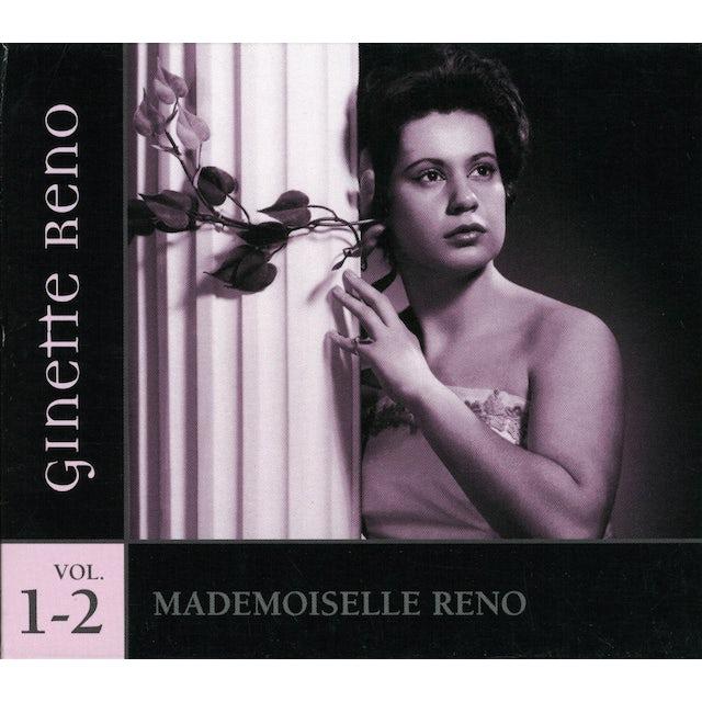 Ginette Reno MADEMOISELLE RENO 1 & 2 CD