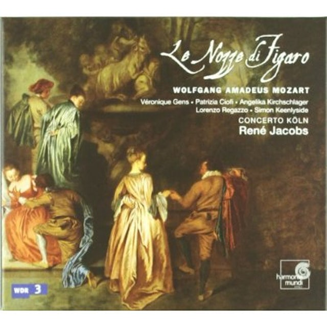 Mozart, Gens, Ciofi, Kirchschlager, Regazzo, Keenlyside, Concerto Köln, Jacobs [Hybrid SACD]