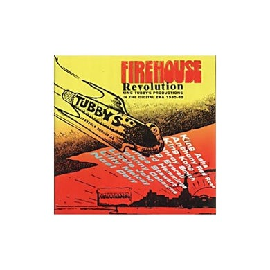 FIREHOUSE REVOLUTION: KING TUBBYS ON DIGITAL / VAR Vinyl Record