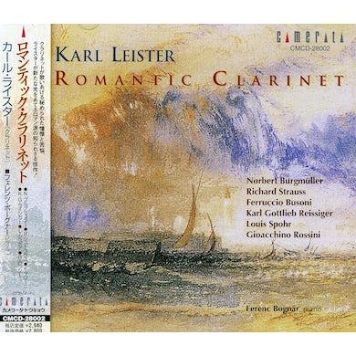 Karl Leister ROMANTIC CLARINET CD