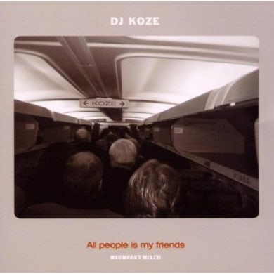 Dj Koze ALL PEOPLE IS MY FRIENDS CD
