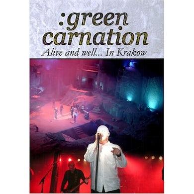 Green Carnation ALIVE & WELL IN KRAKOW DVD