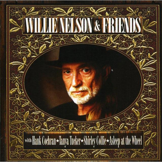 Willie Nelson FRIENDS CD