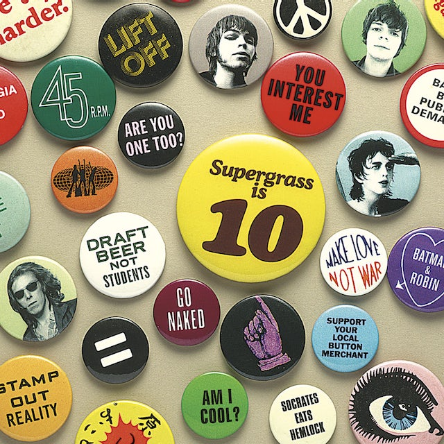 Supergrass IS 10: BEST OF 94-04 CD
