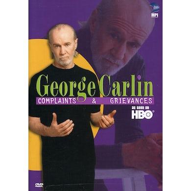 George Carlin COMPLAINTS & GRIEVANCES DVD