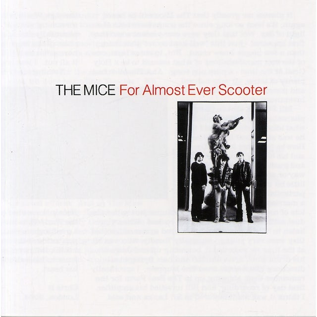 Mice FOR ALMOST EVER SCOOTER CD