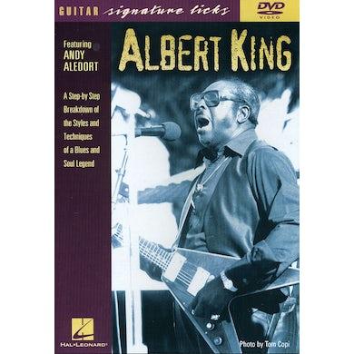 Albert King GUITAR SIGNATURE LICKS DVD