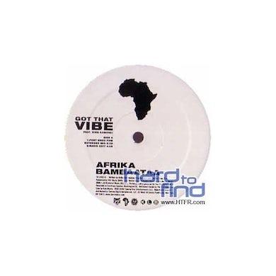 Afrika Bambaataa GOT THAT VIBE (X4) Vinyl Record