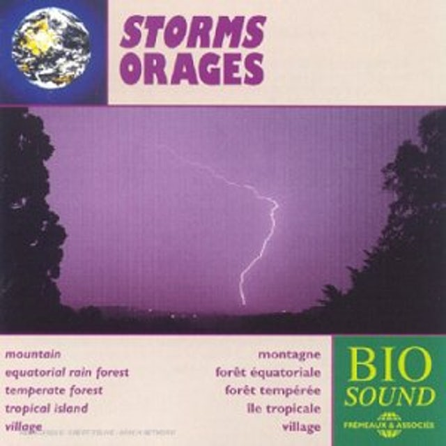 Sounds of Nature STORMS CD