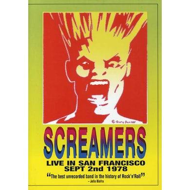 SCREAMERS LIVE 1978 IN SAN FRANCISCO DVD