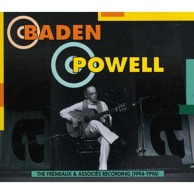Baden Powell FREMEAUX & ASSOCIATES RECORDINGS 1994-1996 CD