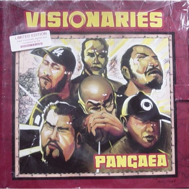 Visionaries PANGAEA Vinyl Record
