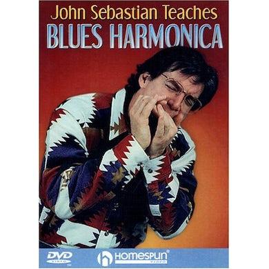JOHN SEBASTIAN TEACHES BLUES HARMONICA DVD