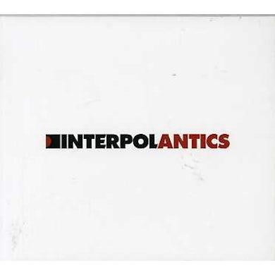 Interpol ANTICS CD