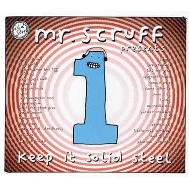 Mr. Scruff KEEP IT SOLID STEEL CD