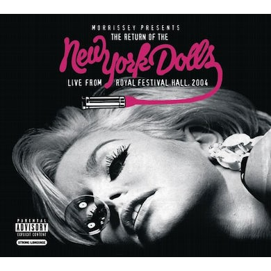MORRISEY PRESENTS: RETURN OF NEW YORK DOLLS LIVE CD