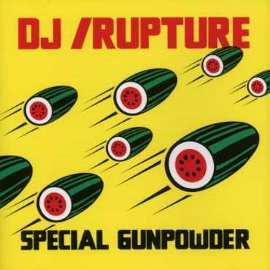 Dj Rupture SPECIAL GUNPOWDER CD
